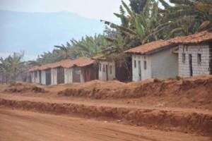 Une vue partielle du site des déplacés de Ruhororo ( Photo Iwacu-burundi.org )