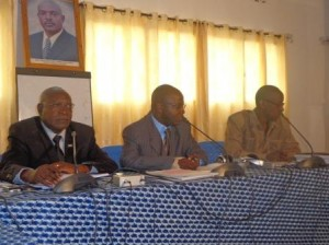 Conférence publique tenue par les porte-paroles des institutions burundaises  (photo: ppbdi.com)