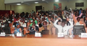 Le vote au Parlement du Burundi (Photo: assemblee.bi)