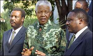Madiba au Burundi (Photo: BBC)