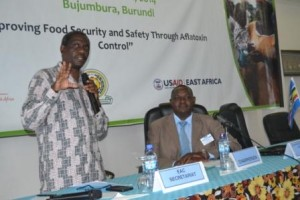 Séminaire de prévention contre l'aflatoxine à Bujumbura - mars 2014 ( photo: ppbdi.com )