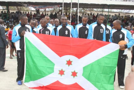 L'équipe nationale de basketball du Burundi