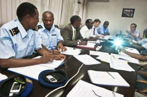 Des officiers de la Police Nationale du Burundi (PNB)   ( Photo : btcctb.org )