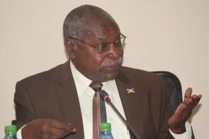 M. Philippe Nzobonariba Secrétaire Général du Gouvernement et Porte-Parole du Gouvernement du Burundi ( Photo: Igihe.bi )