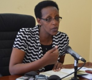 Mme Rose Gahiru, Ministre de l'enseignement de base et du secondaire au Burundi ( Photo: PPBDI.COM )