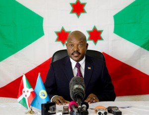 Discours de Son Excellence Pierre NKURUNZIZA PRESIDENT DE LA REPUBLIQUE à l'occasion du Nouvel An 2015 ( Photo: