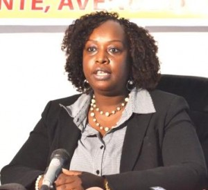 Mme Evelyne Ntibazonkiza, secrétaire exécutive du Doing business au Burundi ( Photo: PPBDI.COM)