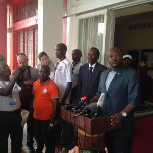 Le très populaire président africain du Burundi, S.E. NKURUNZIZA Pierre ( Photo: BBC Afrique )