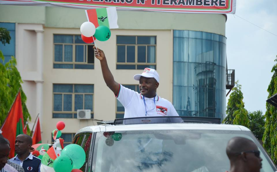 photo: facebook.com/presidentpierrenkurunziza