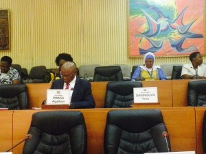 Première session parlementaire 2015-2020 à l'Assemblée nationale au Burundi ( Photo: Nancy Ninette Mutoni )