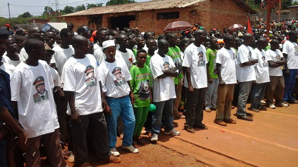 Victory celebration in Busiga Commune ( 12/09/2015 -  Photo: Didace Muryango )