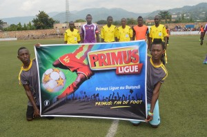 Burundi / Football - 17ème journée Primus Ligue : Vital'O 2 - 0 LLB S4A ( Photo : FFB ).