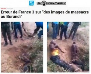 Burundi: Réaction de l'Etat burundais face à la désinformation sur France 3 ( Photo : Capture France 24 )
