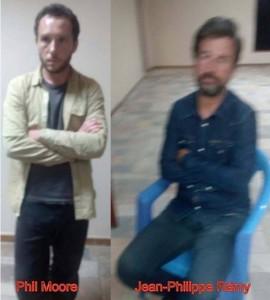 Burundi : Bujumbura - 2 journalistes français et anglais surpris et arrêtés avec des terroristes armés ( photo PPD Girijambo, Burundi-24, Ikiriho.bi )