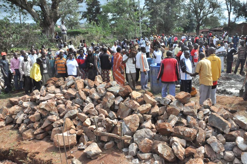 Burundi : TDC - Contruction du campus de l'Université de Buhumuza de Cankuzo ( Photo: Assemblée Nationale - 16/02/2016 )