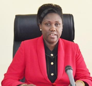 Dr Josiane Nijimbere, ministre burundaise de la Santé publique et de la lutte contre le sida ( photo: ppbdi.com 2016 )