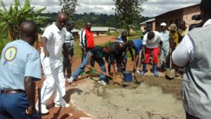 Burundi : TDC - Contruction du Centre d'Enseignement des Métiers de Gahombo à Kayanza ( Photo : Assemblée Nationale - 14/05/2016 )