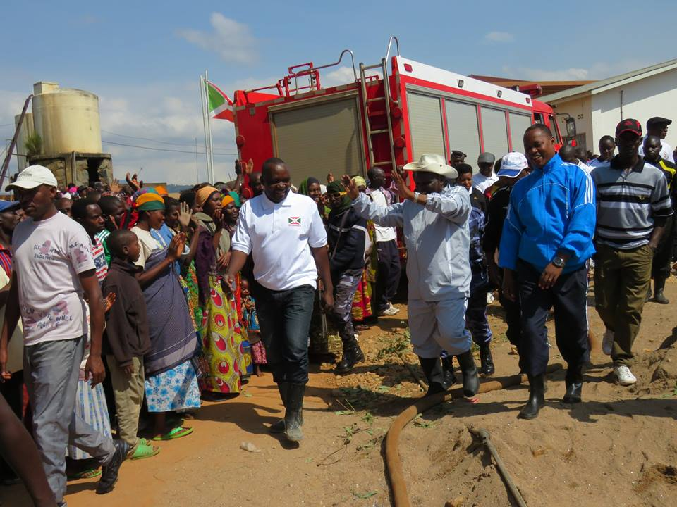 Burundi : TDC - Travaux d'extension de l'hôpital de Kayanza ( Photo : assemblee.bi - 2016 )