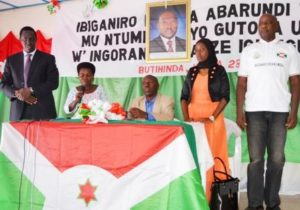 Burundi – dialogue interburundais : Muyinga / Butihinda – Amendement de la Constitution et fin de l'Accord d'Arusha ( Photo : ppbdi 2016 )