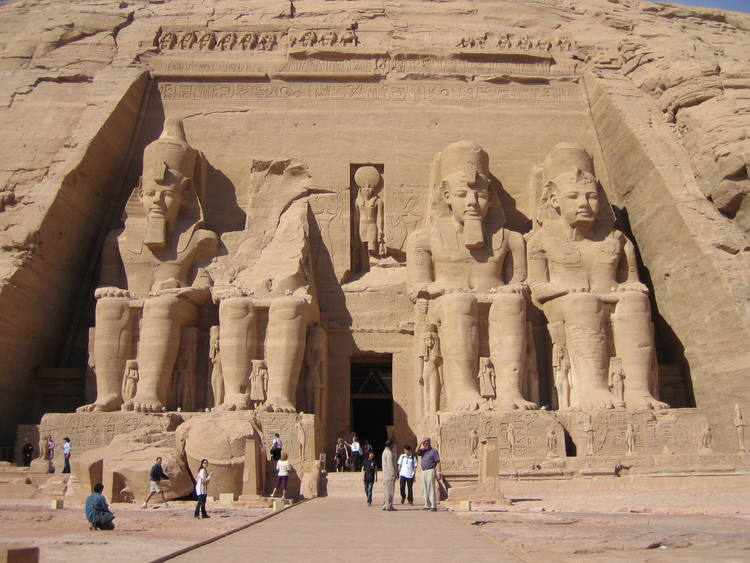 Le site d'Abou Simbel en Egypte ( Photo : UNESCO )