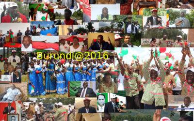 Les partis politiques au Burundi en 2015