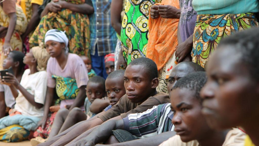 Les Réfugiés burundais au Rwanda. ( Photo RFI 2016 )