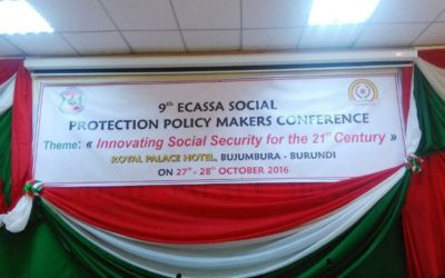 Burundi : 9ème édition de l'ECASSA - Innovating social security for the 21st Century ( photo : ikiriho 2016 )