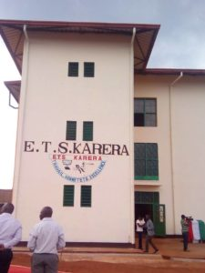 Burundi : Inauguration de l'Ecole Technique Secondaire ETS de Karera – GITEGA ( Photo : ikiriho.bi 2016 )