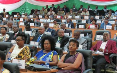 Burundi : Ouverture de la session parlementaire ordinaire d'Octobre ( Photo : RTNB 2016 )...