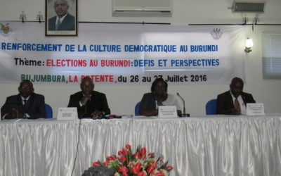 Photo : Assemblée Nationale du Burundi