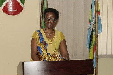 Mme Jeanne d'Arc Kagayo, ministre burundaise du Développement communal ( Photo : ABP 2016 )