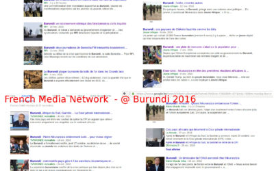 L'image du Burundi ( octobre - novembre 2016 - French Media Network
