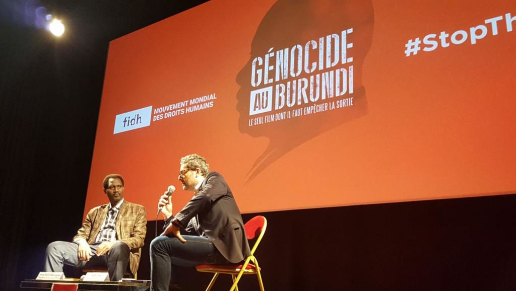 Florent Geel: «On ne dit pas qu'il y a un génocide au Burundi, on alerte» Photo : RFI