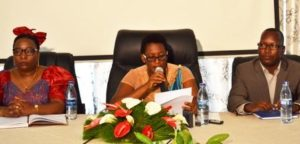 Burundi : Formation des femmes Parlementaires au leadership ( Photo : ppbdi.com  2016 )