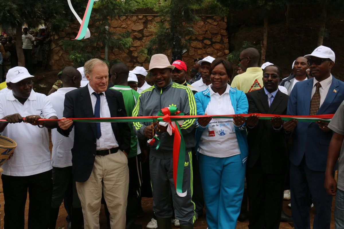 Burundi : Inauguration du Centre Vocationnel - Peder Wallenberg - de Kanyosha ( Photo : Genevieve NDAYISENGA et Evelyne Butoyi )