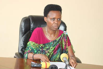 Mme Janvière Ndirahisha, ministre burundaise de l'Education ( Photo : RTNB 2017 )