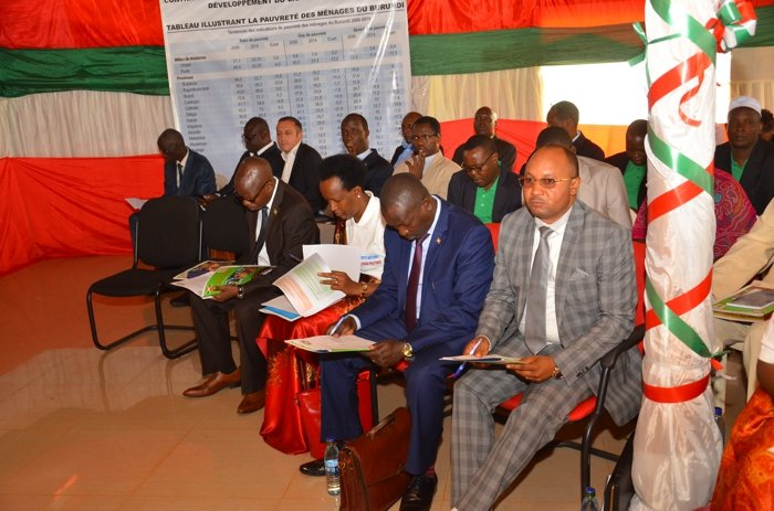 Burundi : 3ème AG de la Commission Nationale de Protection Sociale ( photo : Nubwacu Yves Lionel 2017 )