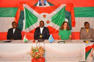Burundi : 3ème AG de la Commission Nationale de Protection Sociale ( photo : KARERWA NDENZAKO 2017 )