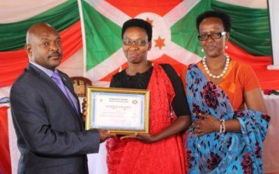 Burundi : La commune GIHANGA à BUBANZA est la mieux gérée, évaluation édition 2015 ( Photo : Ministère burundais du Développement Communal 2016 )