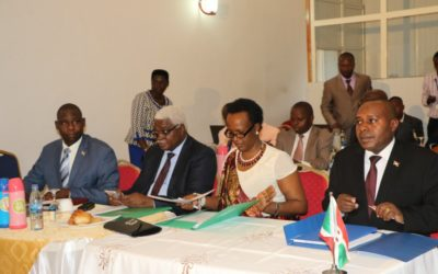 Burundi : Réunion sur le transfert des compétences vers les communes ( Photo : presidence. bi 2016 )