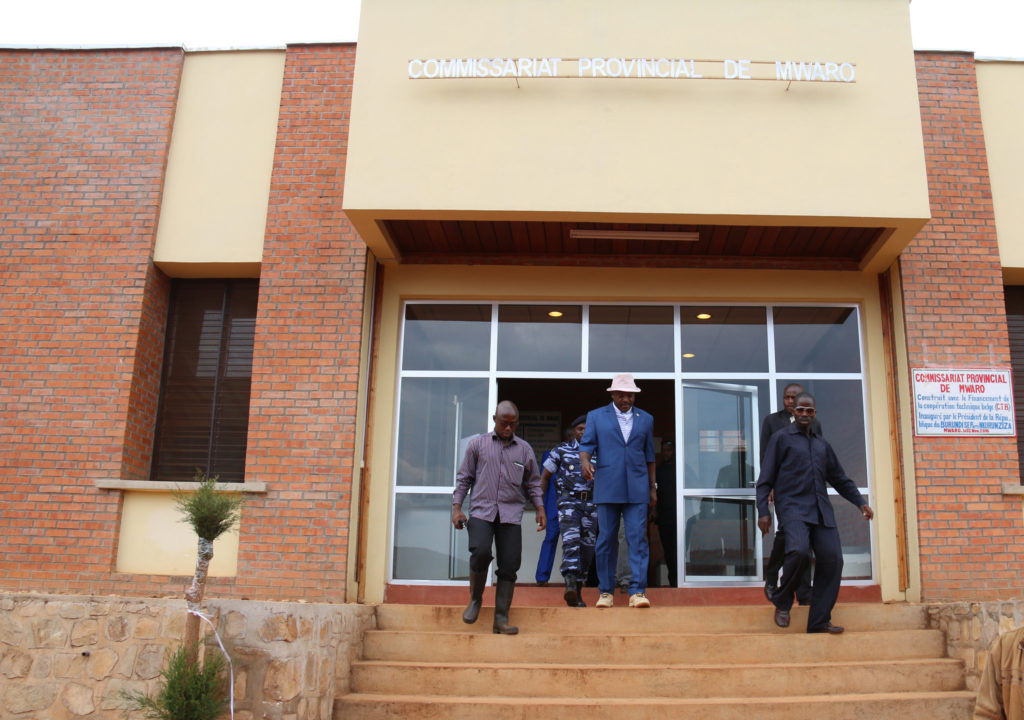 LE COMMISSARIAT PROVINCIAL DE MWARO ( Photo : NKURUNZIZA Pierre 2016 )