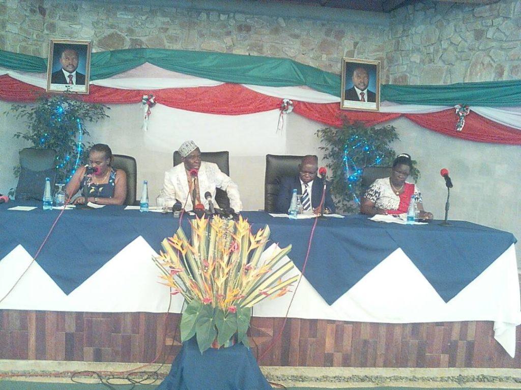 Burundi / MEDIA : Le CNC présente son rapport annuel pour l'exercice 2016 ( Photo : Pacelli Sindaruhuka  2017)
