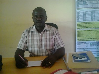 Dr Ndikumasabo Jean-Claude, médecin provincial de la province Rumonge au sein du district sanitaire de Rumonge ( Photo : ABP 2017 )