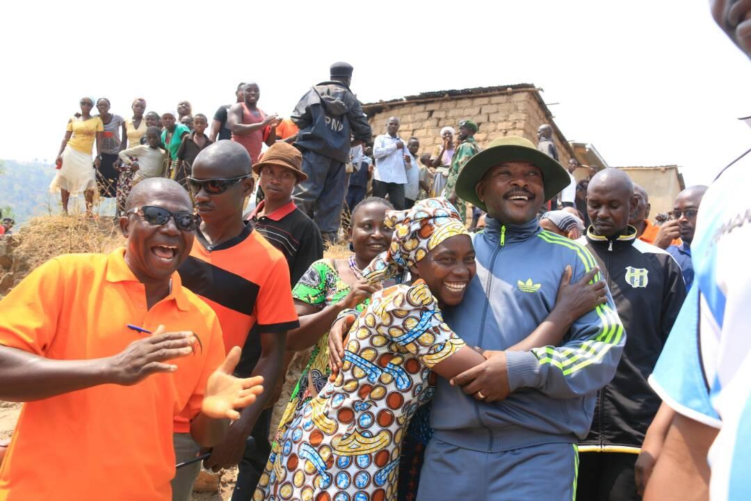 Burundi : Le Président inaugure l'Ecole Fondamentale de Nyambuye ( Photo : Ku Kirimba , Ikiroho , 2017 )