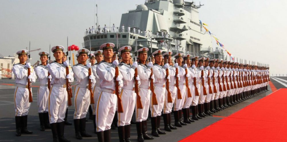 Photo : Afrique Education - A Chinese military ship docked at Dar es Salaam port on Wednesday.