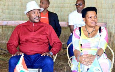 Burundi : Le Président à Mwumba - Ngozi pour la fête communale 2017 ( Photo : Presidence 2017 )
