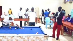 Burundi : 1er tournoi national des clubs de billard burundais ( Photo : PPBDI.COM 2017 )