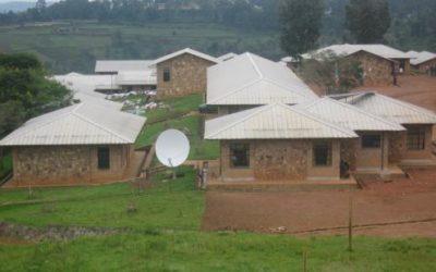 Lycée de Kayanza (à droite, le bâtiment hébergeant l'espace IFADEM) - Photo IFADEM