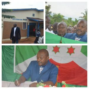 Burundi : Inauguration du Centre Médical de Nyabutare à MAKAMBA ( Photo : RTNB 2017 )