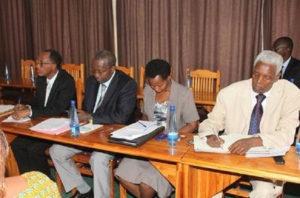 Burundi : Réflexion sur la Loi de 2002  sur le statut d'avocat ( Photo : ABP  2017 )